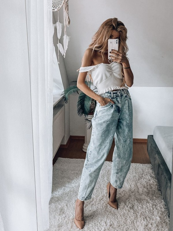 SLOUCHY JEANS BALOON