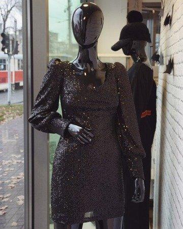 Sukienka Black Sequin